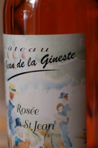 A glowing rosé from the Corbières